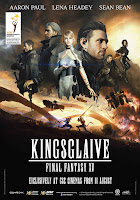Kingsglaive Final Fantasy XV movie poster malaysia gsc