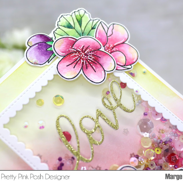 Marge Crafts Pretty Pink Posh Geranium Cards