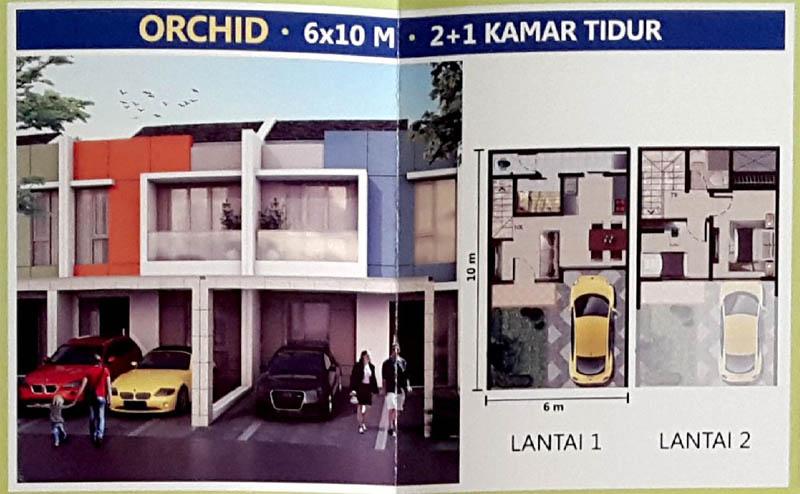 Tipe Orchid @ PIK 2 Jakarta