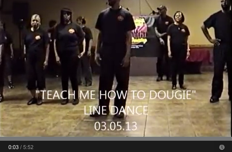 Teach Me How to Dougie Line Dance - Super Throwback Party