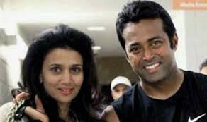 Leander Paes And His Ex Wife Rhea Pillai In Happy Mood