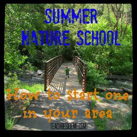 http://teachbesideme.com/starting-a-summer-nature-school/