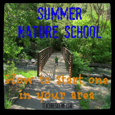 http://teachbesideme.com/starting-a-summer-nature-school/
