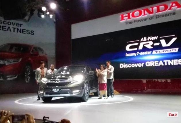 kelebihan, kekurangan, harga, honda, CR-V, 7 penumpang, penggerak, roda depan