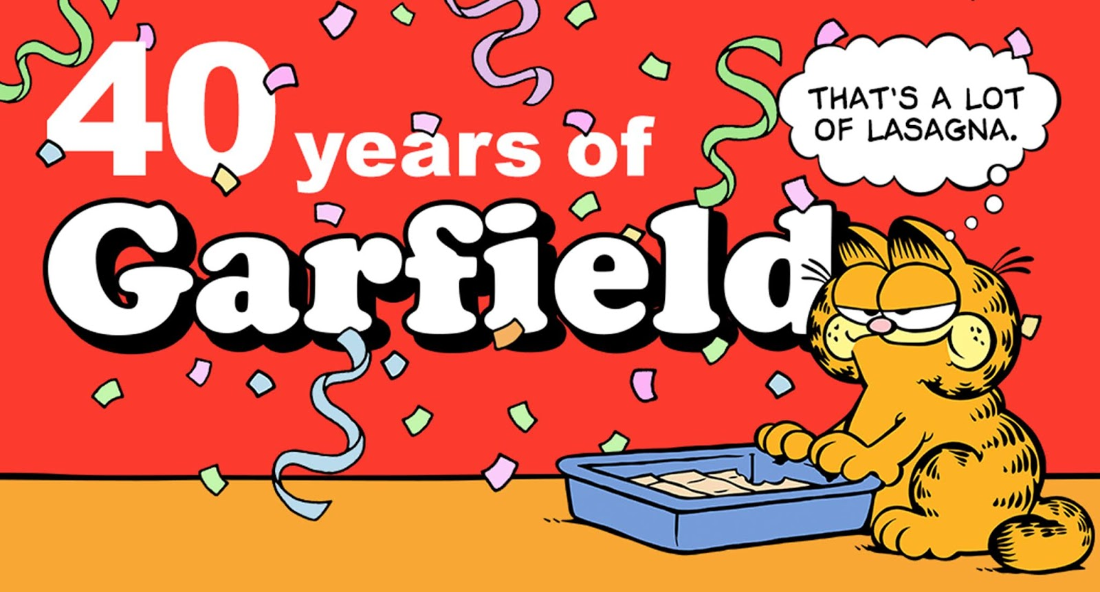 Celebrate Garfield S 40th Birthday With This Fun Infographic