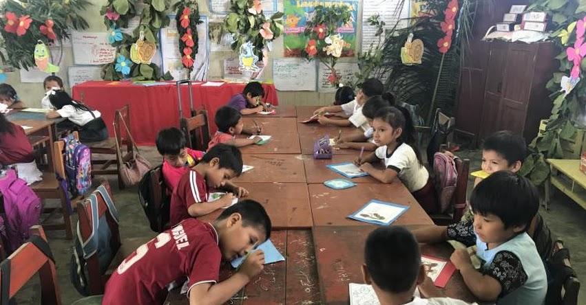 Más de 400 producciones se elaboraron en «I Maratón de la Escritura» en la región Ucayali