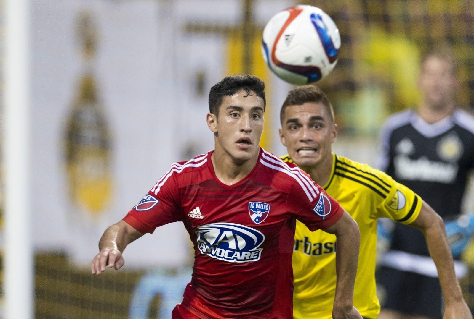 Alex Zendejas, con el FC Dallas de la MLS.