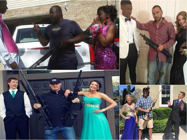 Tuxedos, Prom Gowns, & Guns