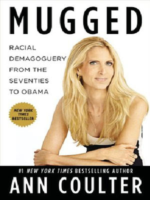 Mugged by Ann Coulter - book cover