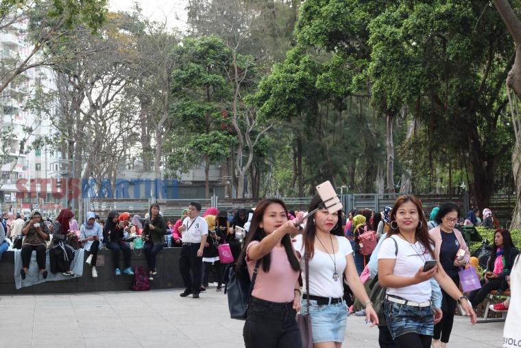 Takut Menjadi Sumber Wabah Campak di Hong Kong,Pemerintah Sarankan Para Buruh Migran diberi Vaksinasi
