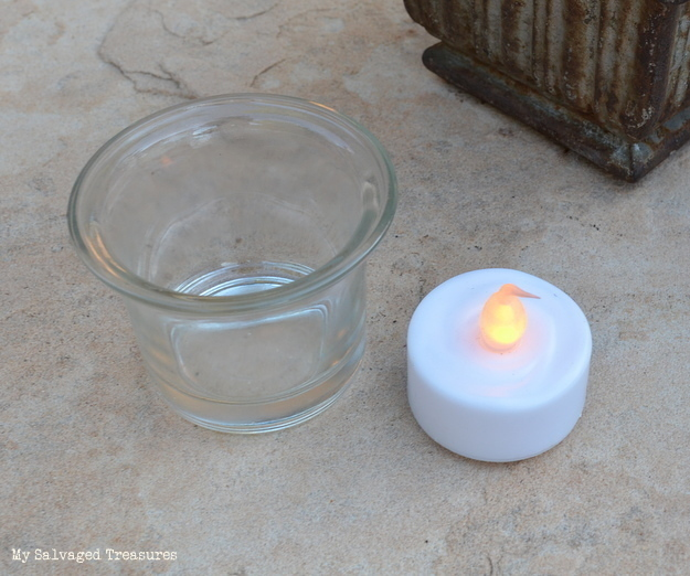 battery operated LED tea light