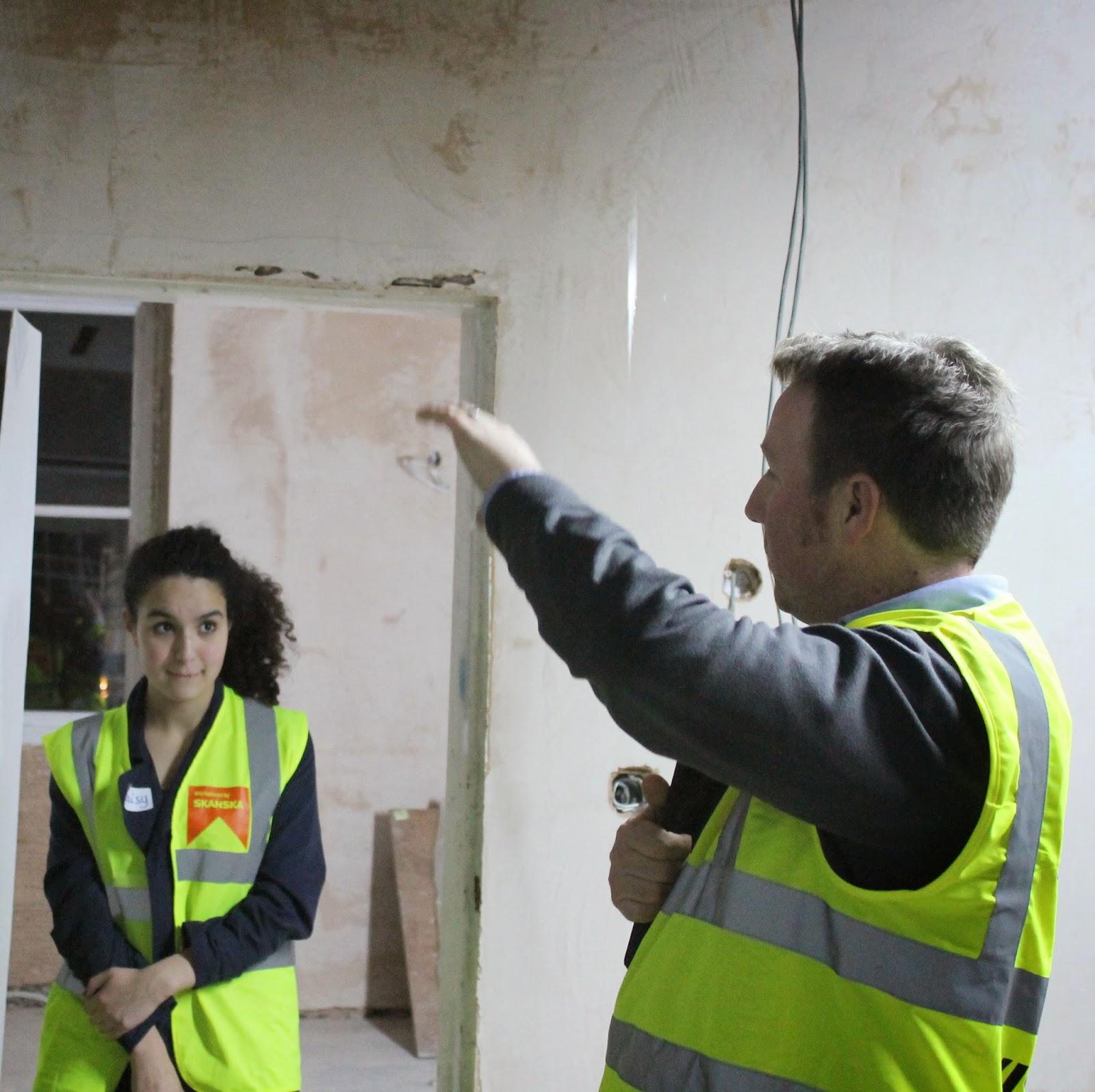 Workshop 8 Site Visit To Skanska Construction Site
