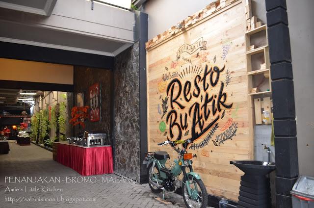 Bercuti ke Surabaya (12) : Makan Tengahari di Resto Bu Atik