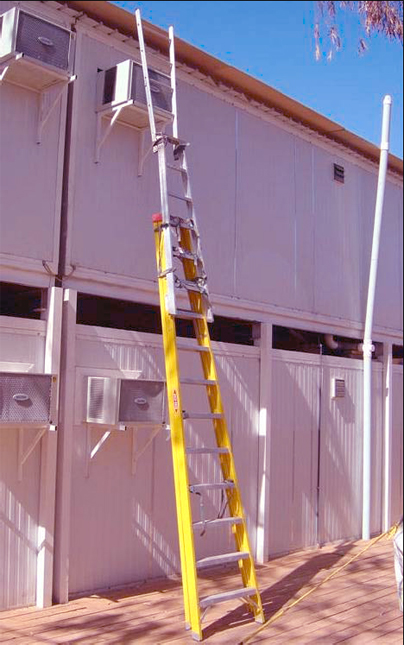 The Eavestrough Company Ladder Safety