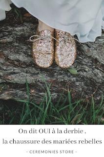 chaussures derbies pour mariée blog mariage unjourmonprinceviendra26.com