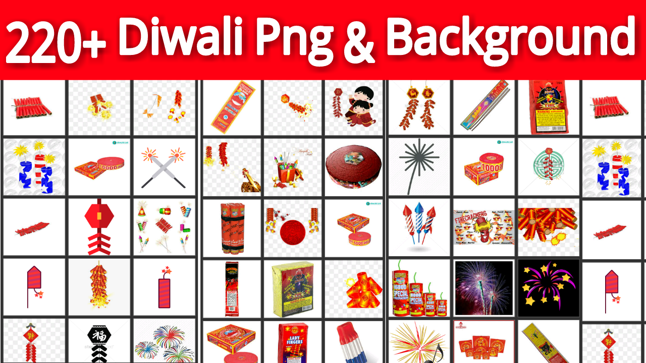 Diwali png and backgrounds download in one click, zip file download