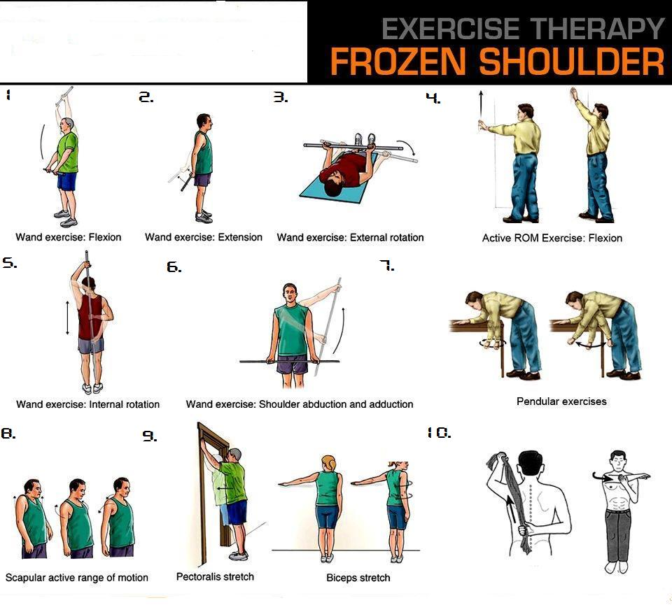 physiotherapy exercises for shoulder pain pdf