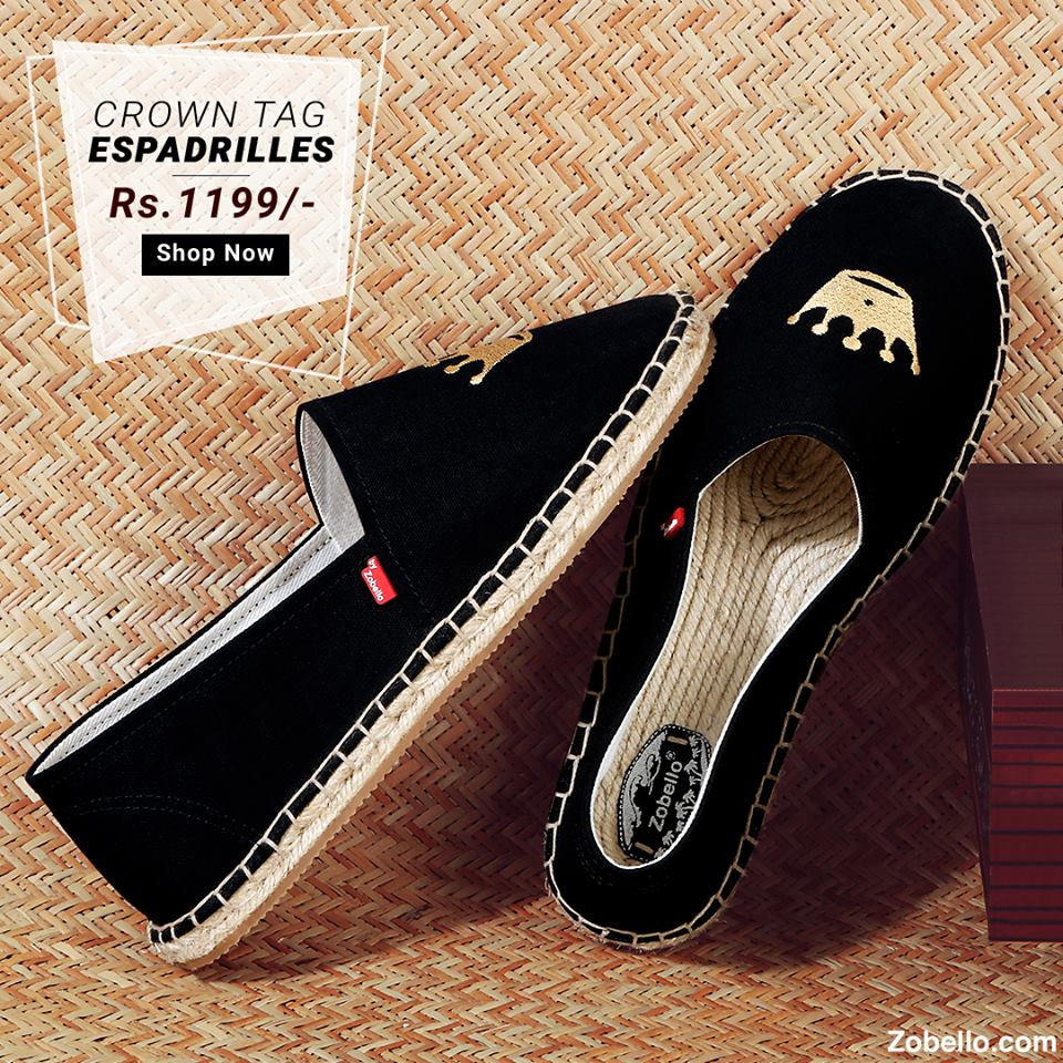 7eaf3f2d9 Zobello, a leading men's fashion online shopping site, offers designer  espadrilles to give men's casual style some twists. Here are the  top-selling ...