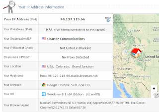 Cek Ip Address Setelah Proxy Server Dikonfigurasi Pada Browser
