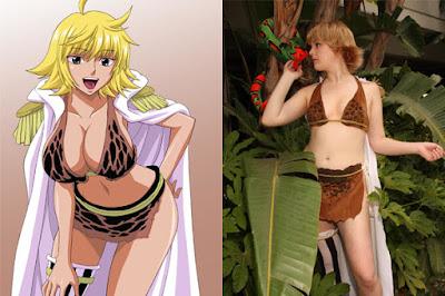Si Seksi Marguerite bikini Coklat