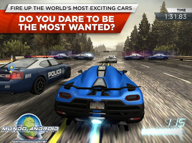 Jugabilidad de Need for Speed: Most Wanted