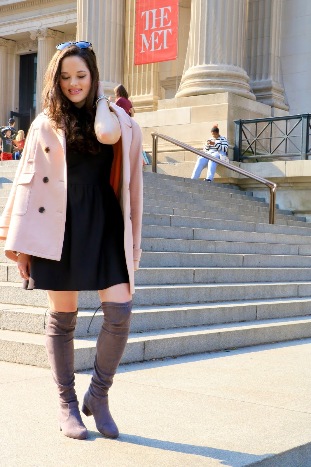 ann taylor pink coat