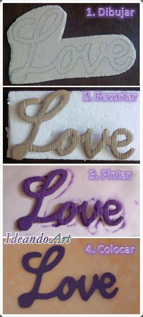 Love de cartón