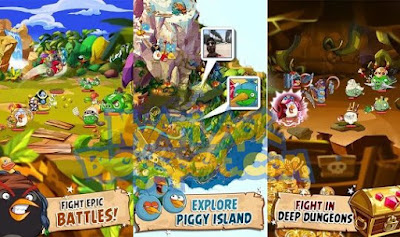 Download Angry Birds Epic Versi 1.5.2 Apk Mod+OBB Data for Android