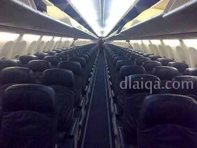 suasana kabin pesawat