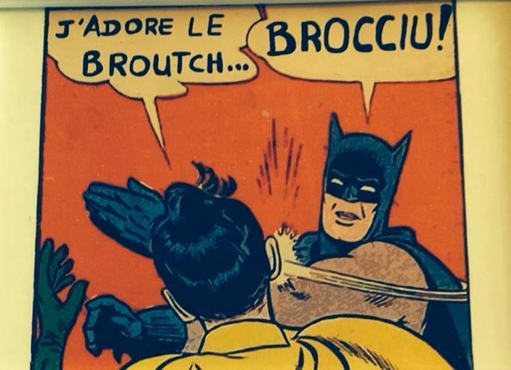 "J'adore le ""Broutch""... Brocciu !"