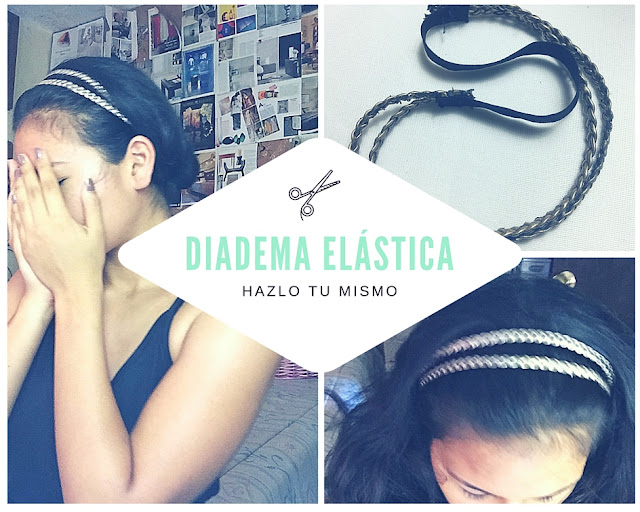 DIY Diadema Elástica