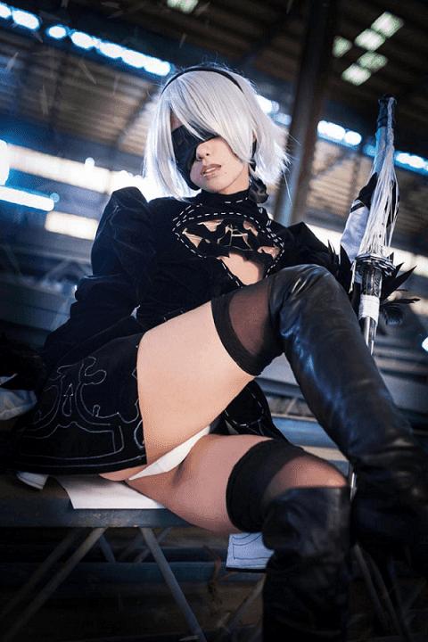 sexiest 2b cosplay