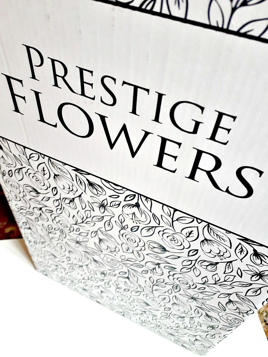 Prestige Flowers, Home Delivery Flowers, Bouquet delivered, The Style Guide Blog