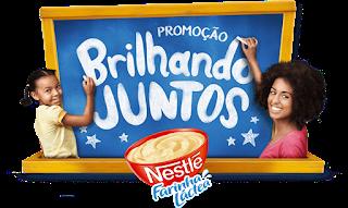 Promoção Brilhando Juntos Farinha Láctea Nestlé