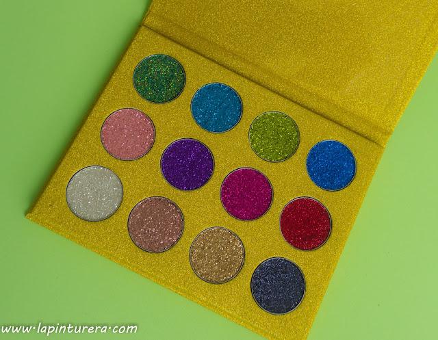paleta glitters