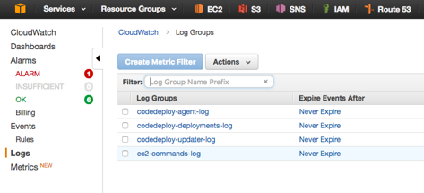 Log EC2 Bash/Linux commands to CloudWatch using AWS Logs