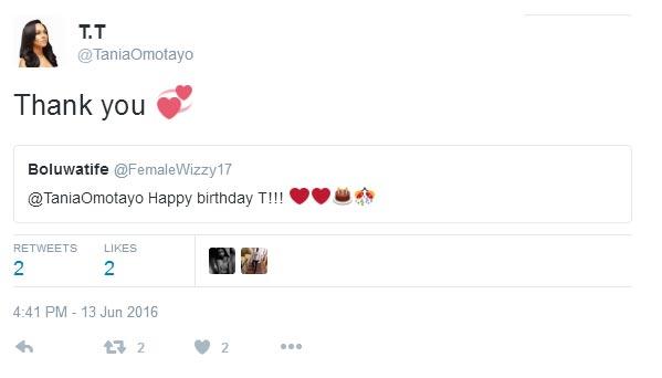 Wizkid and his estranged girlfriend Tania Omotayo exchange banters on Twitter