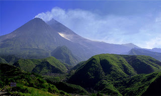 Gunung Merapi Setelah Meletus 2010