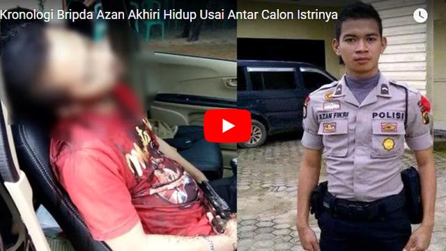 Polisi Ini Bunuh Diri 30 Meter dari Rumah Calon Istri, Status Terakhirnya di FB Sungguh Memilukan!