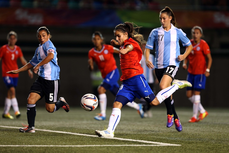 Chile y Argentina en Juegos Suramericanos Santiago 2014, 8 de marzo