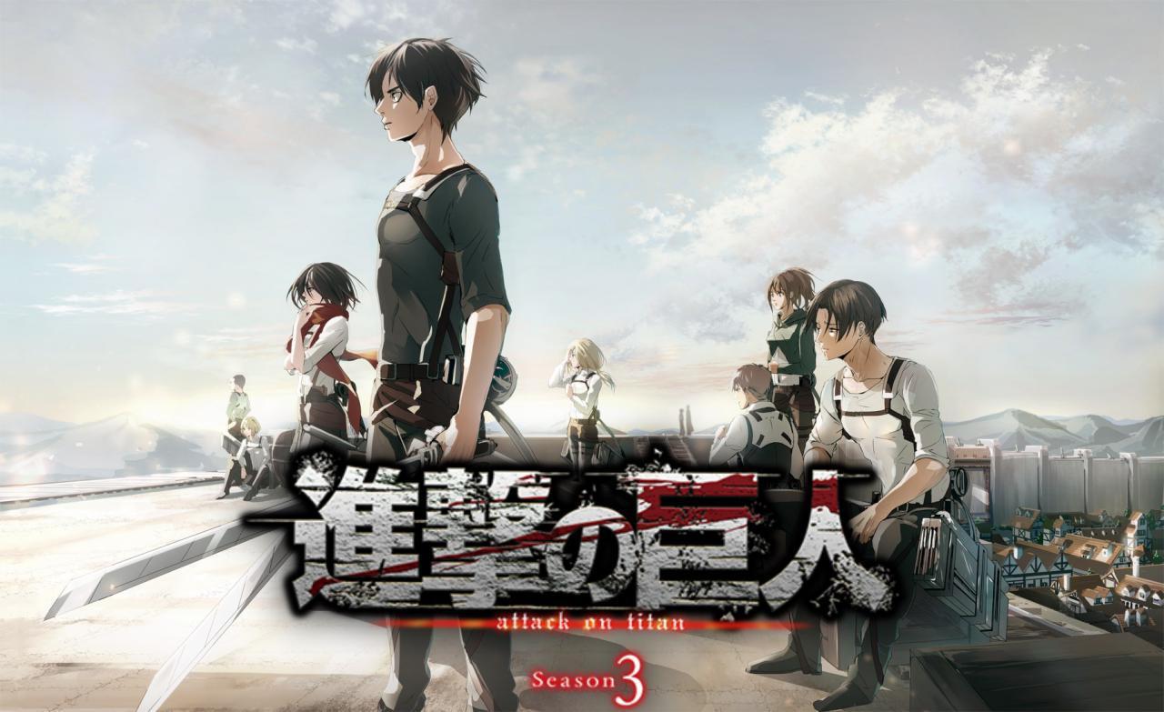 Shingeki no Kyojin Season 3 Episodio 10