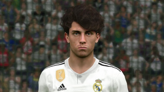 Face Alvaro Odriozola (Real Madrid) - PES 2017 - PATCH PES