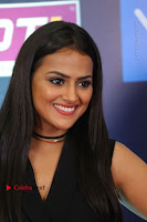 Actress Shraddha Srinath Stills in Black Short Dress at SIIMA Short Film Awards 2017 .COM 0073.JPG