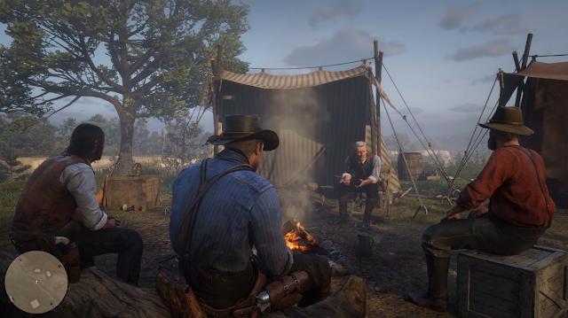 العرض الرسمي لطريقة اللعب من Red Dead Redemption 2 كان يعمل على جهاز PS4 Pro و تأكيد دعمها لدقة 4K ..