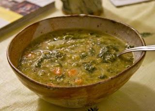 Green Lentil Soup (Yesil Mercimek Corbasi)