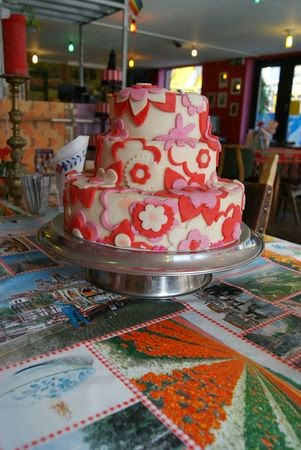 gâteau pâte à sucre salon de thé amsterdam