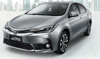 Harga Toyota Corolla Altis Silver Metallic di Pontianak