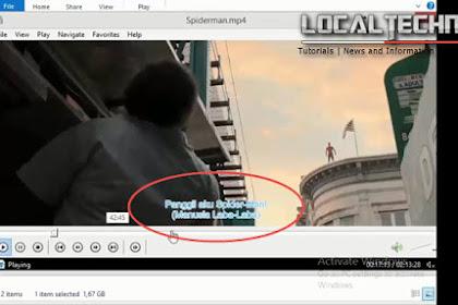 Cara Menambah atau Merubah Subtitle Video atau Film Dengan Format Factory Work 100%