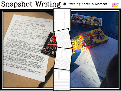 Snapshot Stories:  Capturing a Narrative Writing Moment - Teaching in Room 6