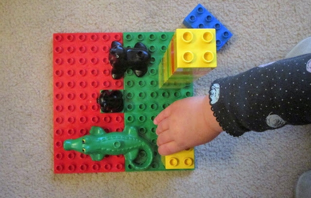 dublo legot, dublo lego eläimet